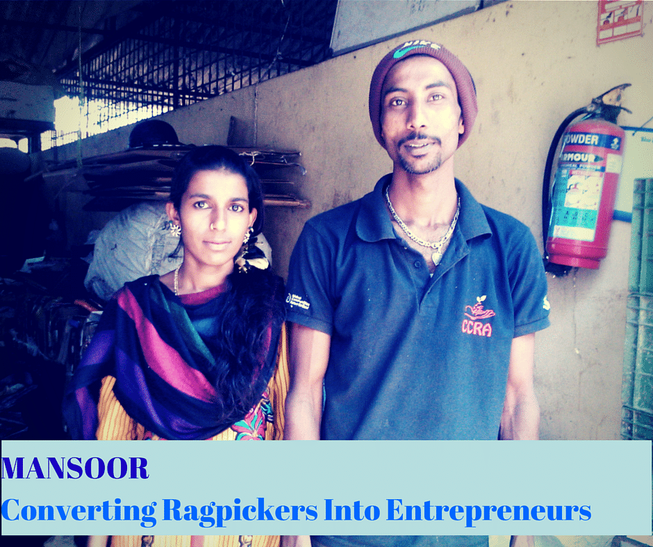 How This Waste Collector In Bengaluru Is Making Entrepreneurs Out Of Ragpickers