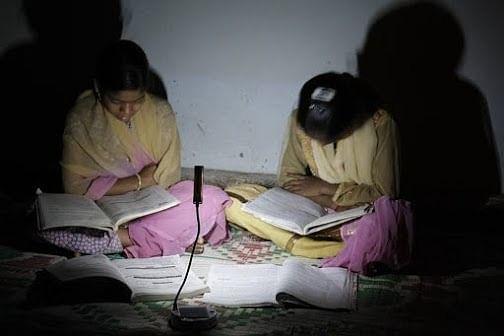 Vidya Deep helping children to study