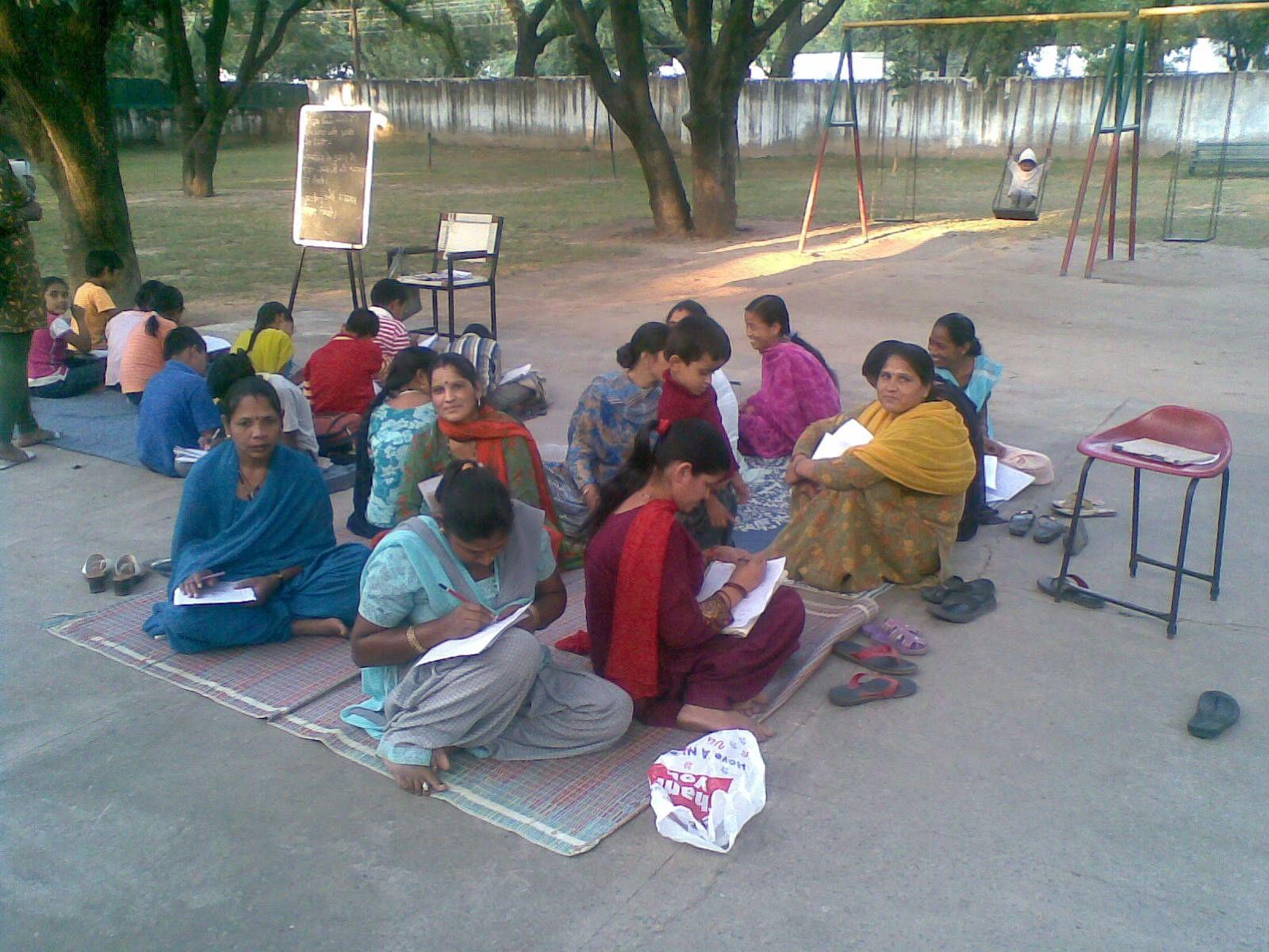 Started as an initiative for children, Hamari Kaksha also empowers women.
