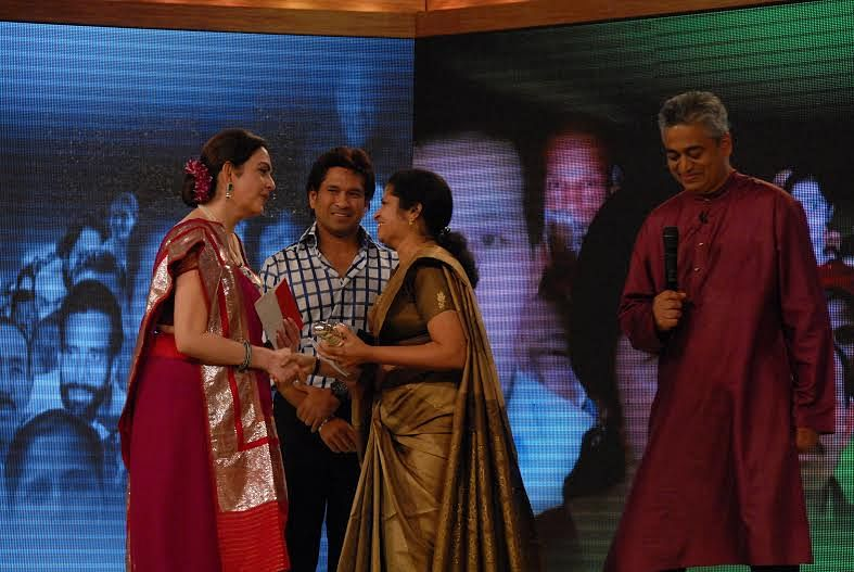 Sheeba Ameer got CNN IBN Real Heroes award for her extra ordinary work.