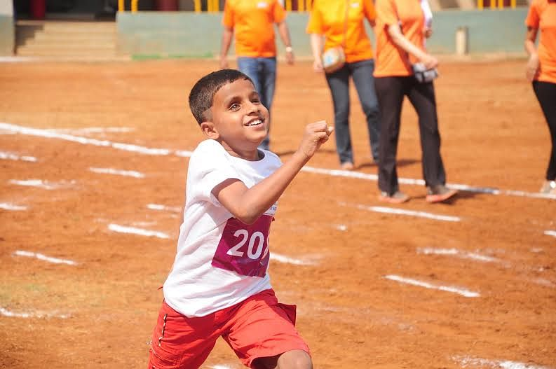 Sports is bringing a visible change in the life and attitude of the kids.