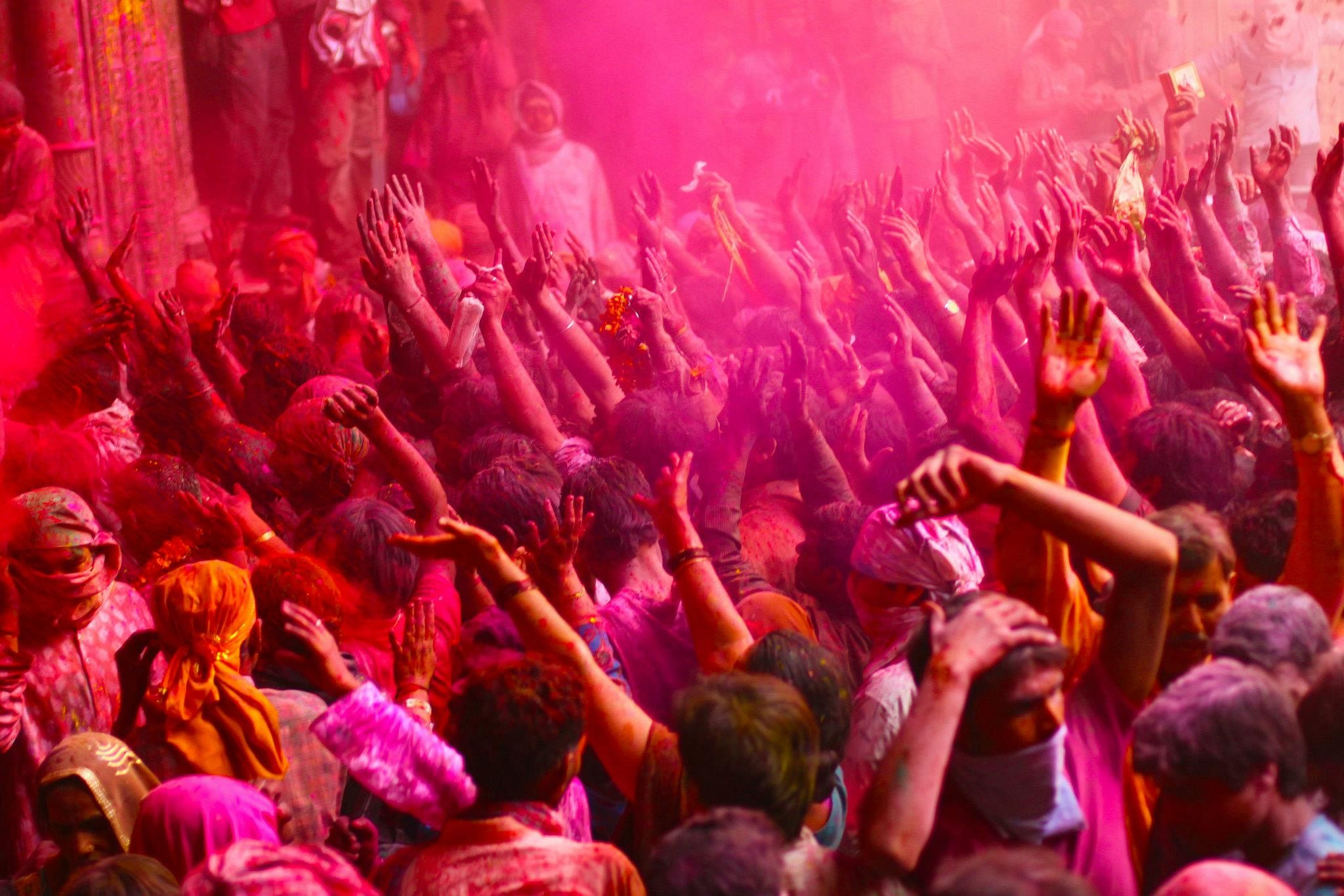 Holi of Vrindavan