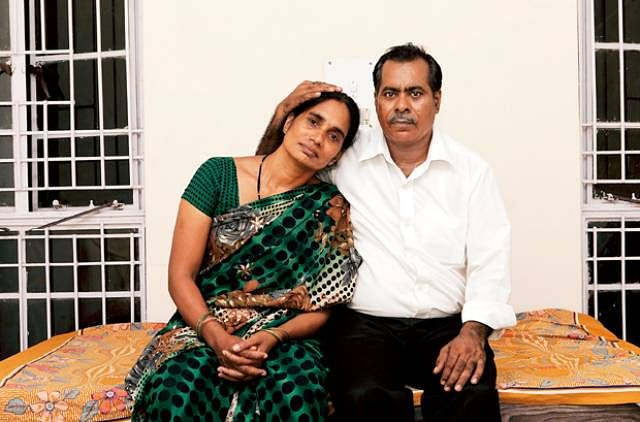 Jyoti Singh's parents.