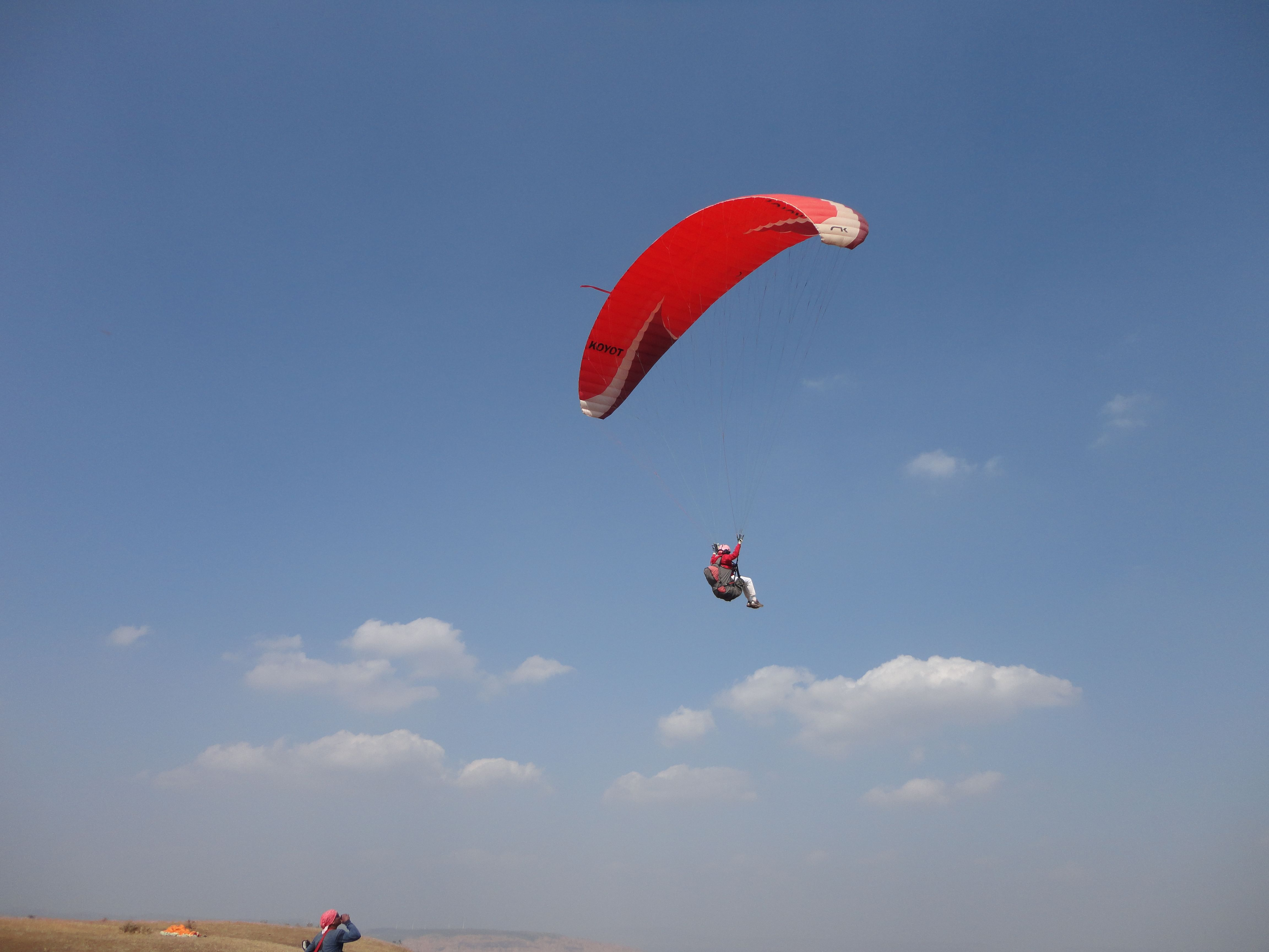 Yasmin's one of the most memorable moment was when she was paragliding.