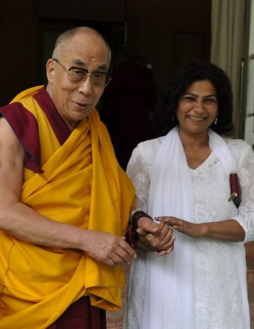 Yasmin also met Dalai Lama for the alternate therapy in Dharamshala.
