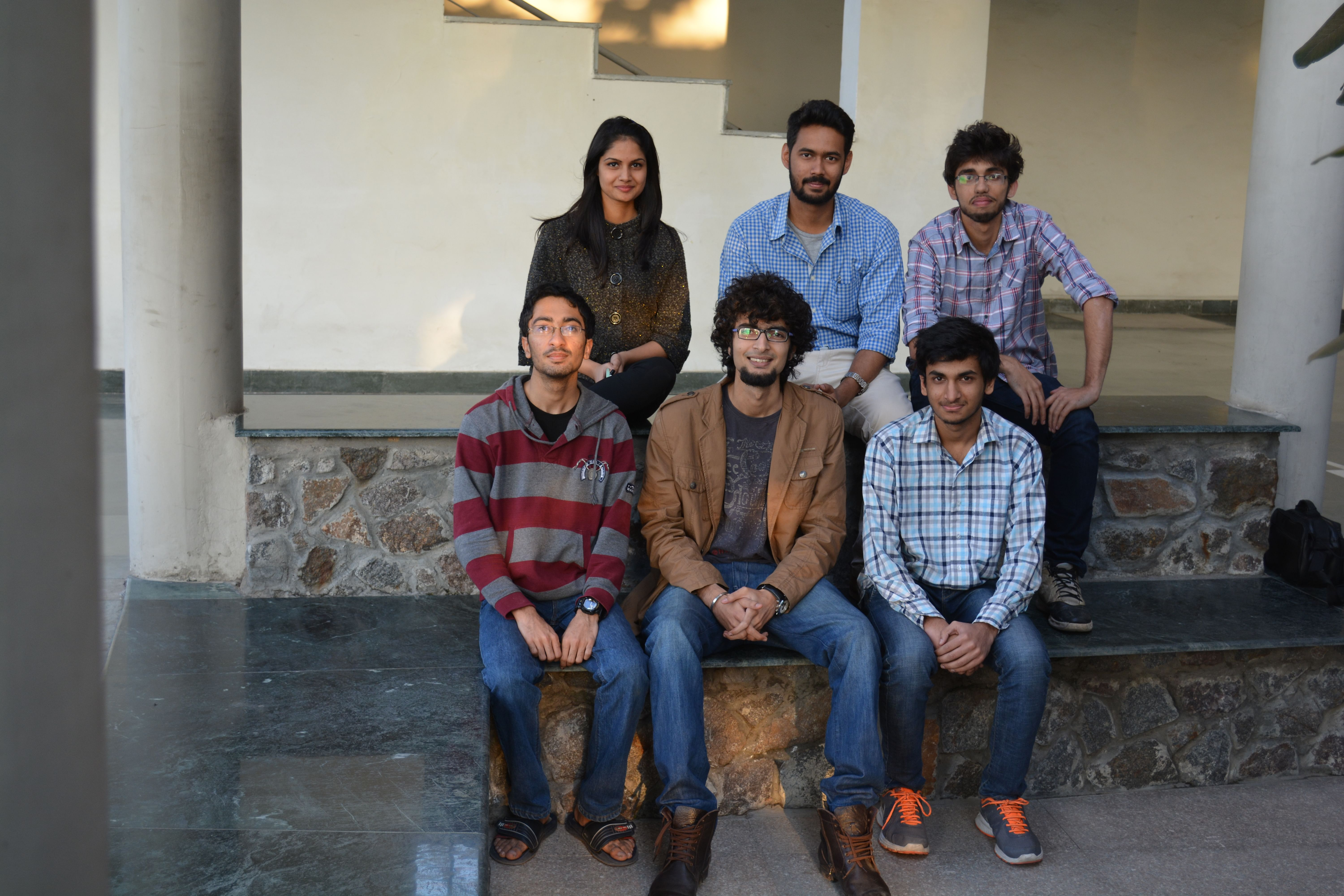The young team behind the initiative.