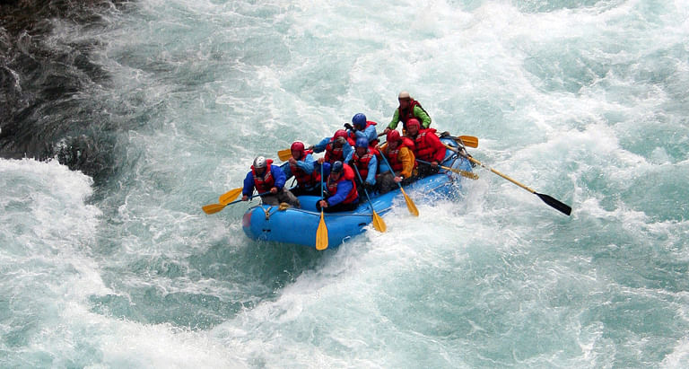 Rafting in Ganga River