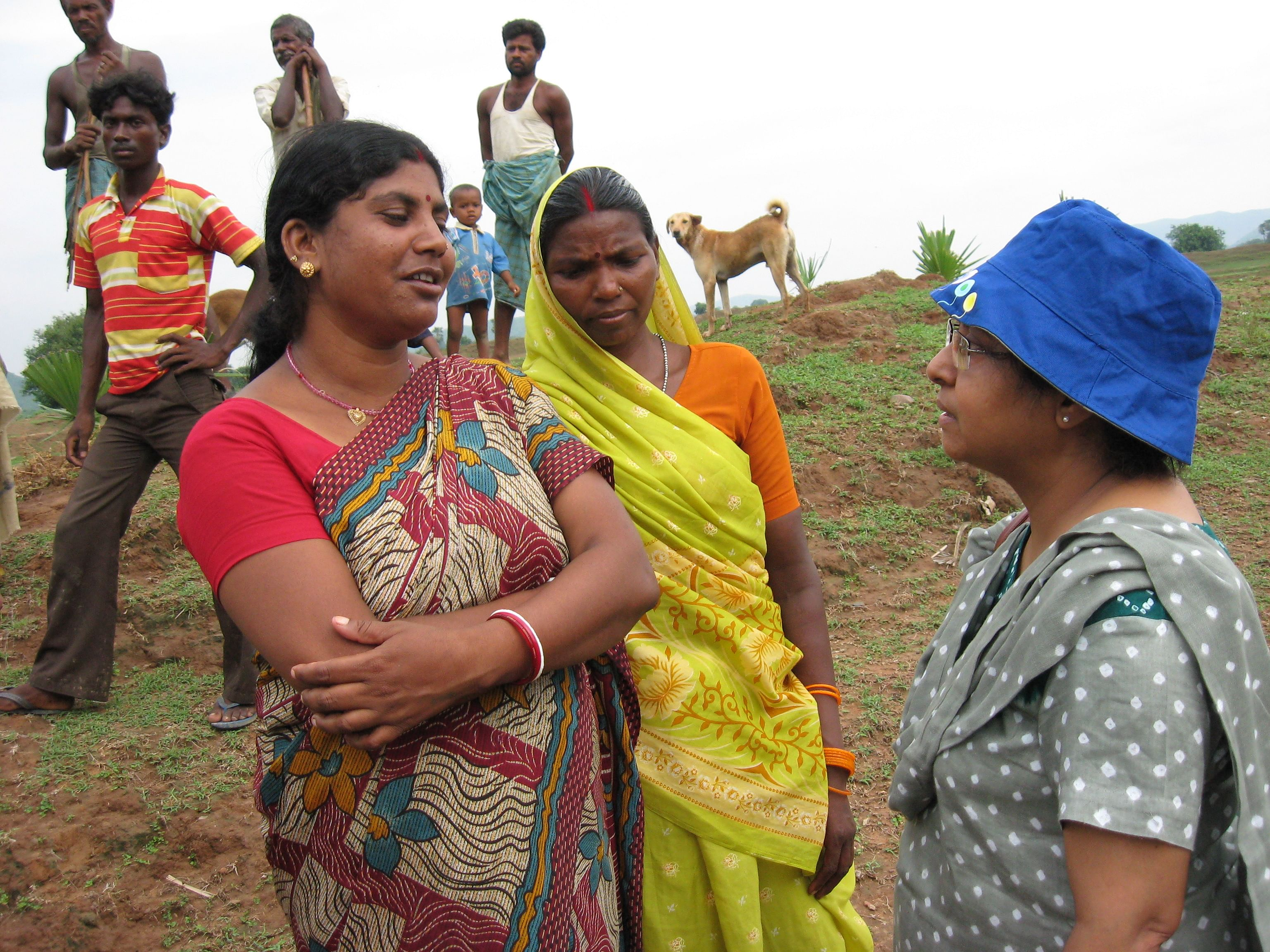 She got villagers on board to give shramdaan and start rain water harvesting.