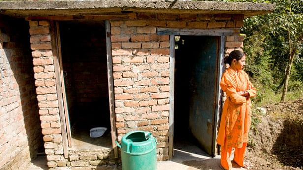 The entire village is now open-defecation free.