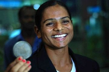 Dutee represents the unflinching and unbending spirit of a woman (Image Credit:  FairnessForDuteeChand Facebook page)
