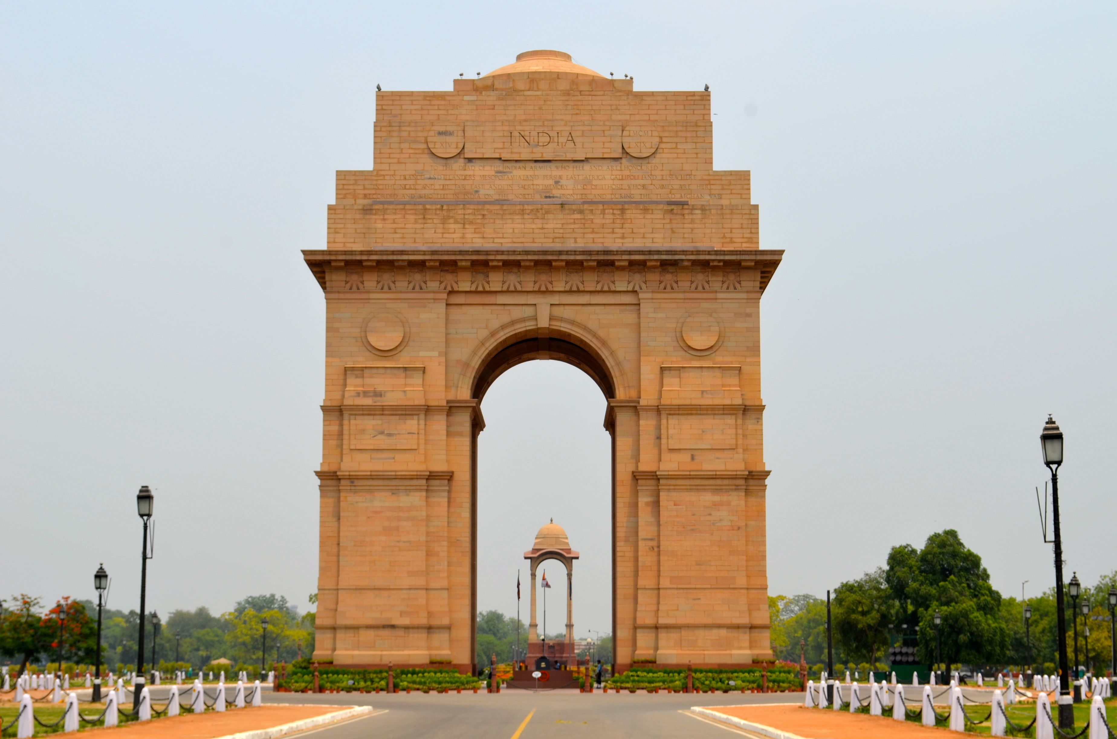 Image result for 4. India Gate, New Delhi, India