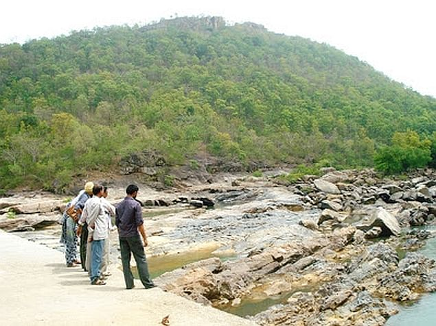 The Karo dam site at Lohajimi (Jeevan Kuruvilla)