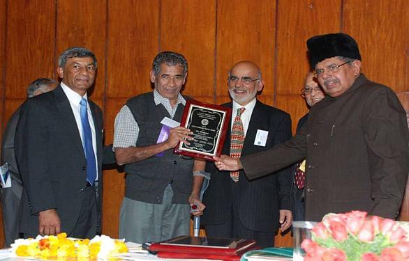 Dr Prabhakar (second from left)