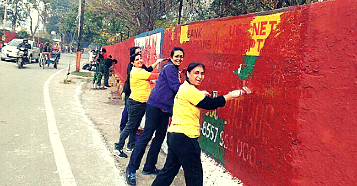 How An All-Women Team Painted Walls, Cleaned Roads, Transformed Hospitals And Changed Ludhiana