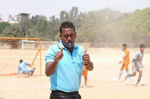 Akhilesh teaches football for free to the needy kids.