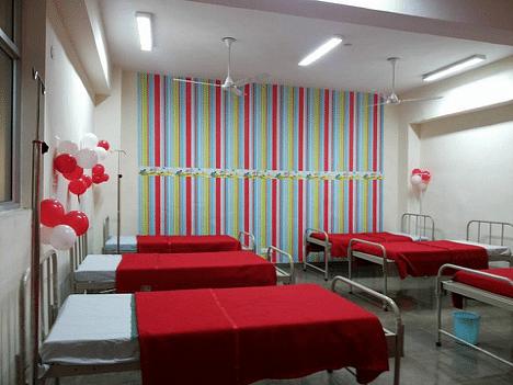 Children's ward makeover.