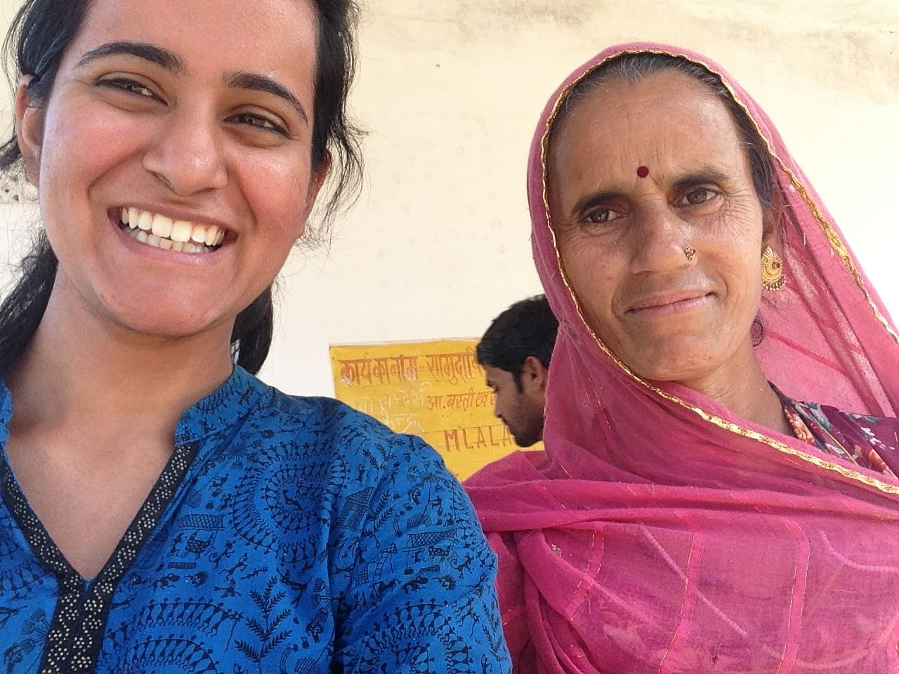 Nupur Ghuliani wanted to know people which brought her to a remote village in Rajasthan.