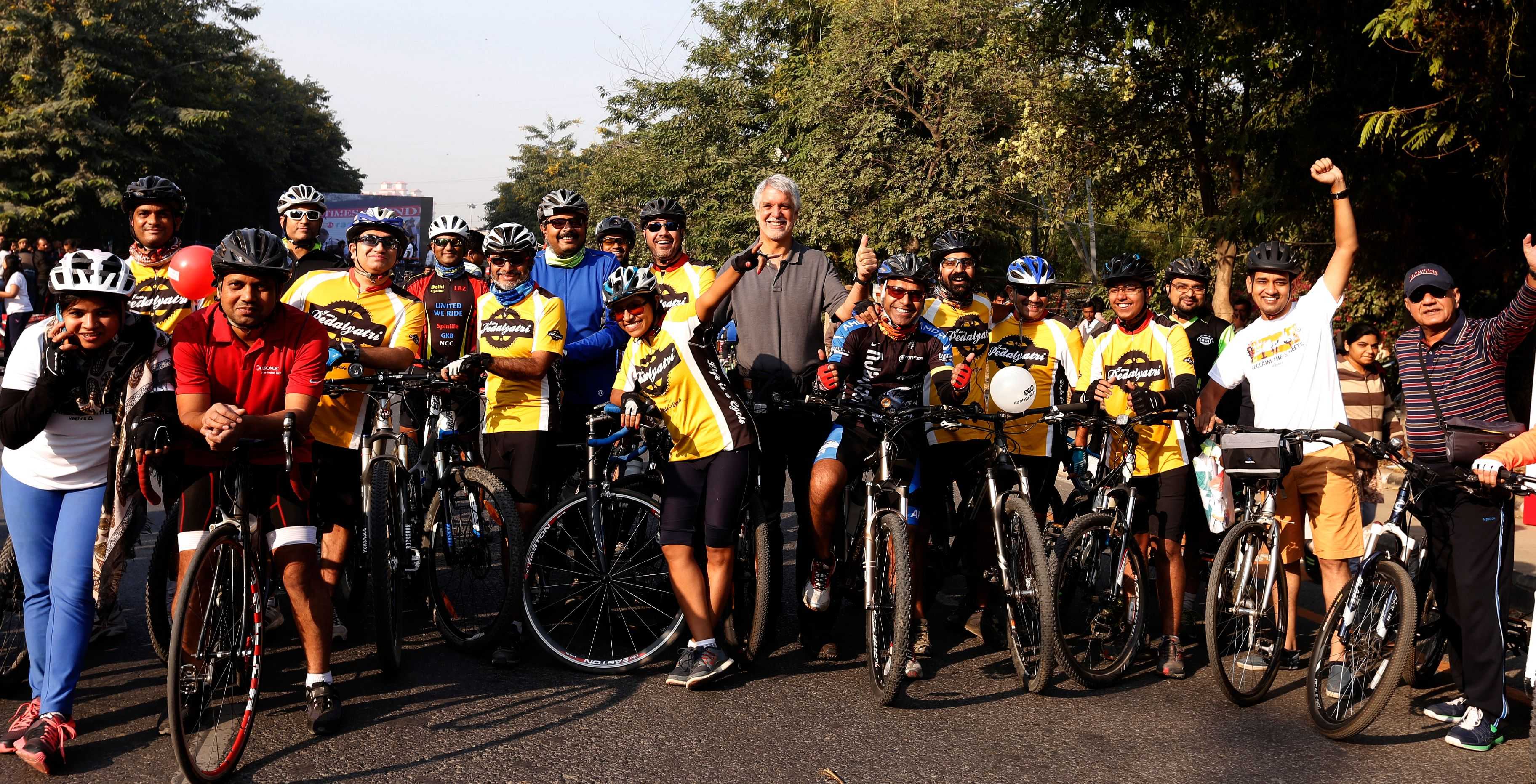 Cycling events, such as the one organised during Raahgiri Day in the Capital recently, are a novel way to draw the attention of the general public to the issue of violence against women and drum up support for increased mobility for women.