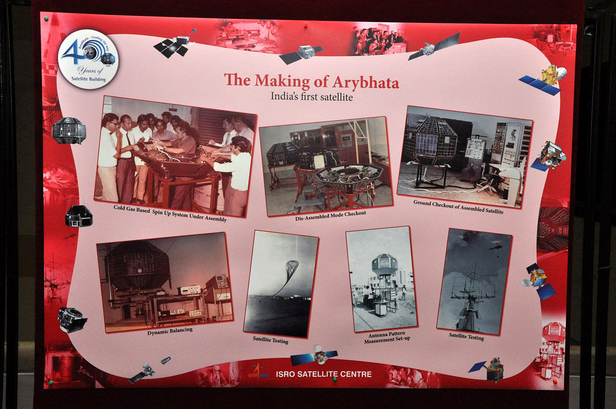 ISRO Poster - The Making of Aryabhata