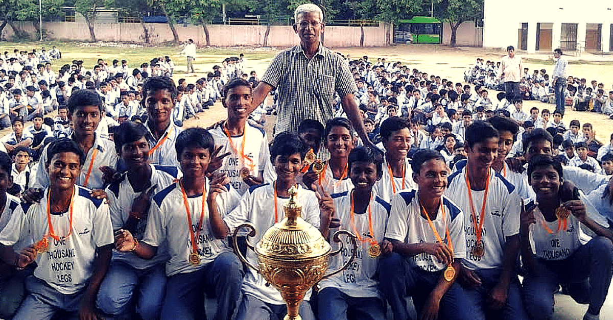 One Man Quit His Lucrative Job to Create World Class Hockey Players out of Government School Kids