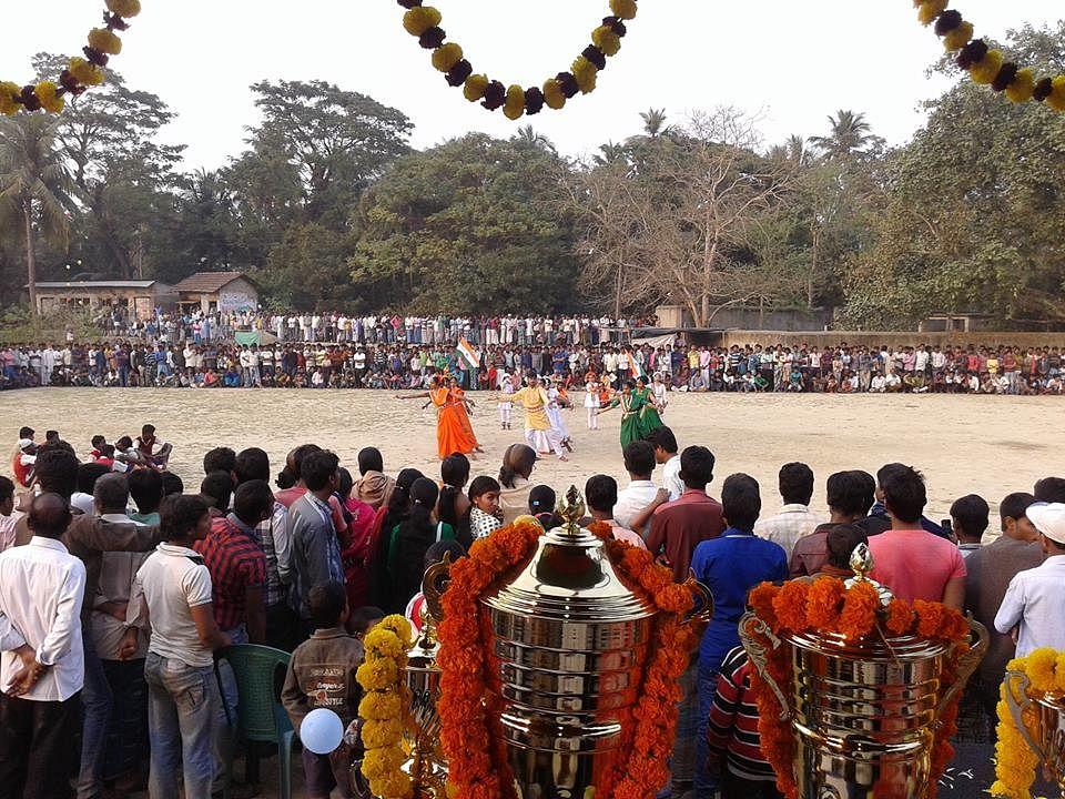 Awareness programme through art (dance & drama) for Swachhata by Gram Panchayat in Bahira (West Bengal)