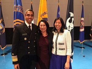 US Surgeon General Vivek Murthy,