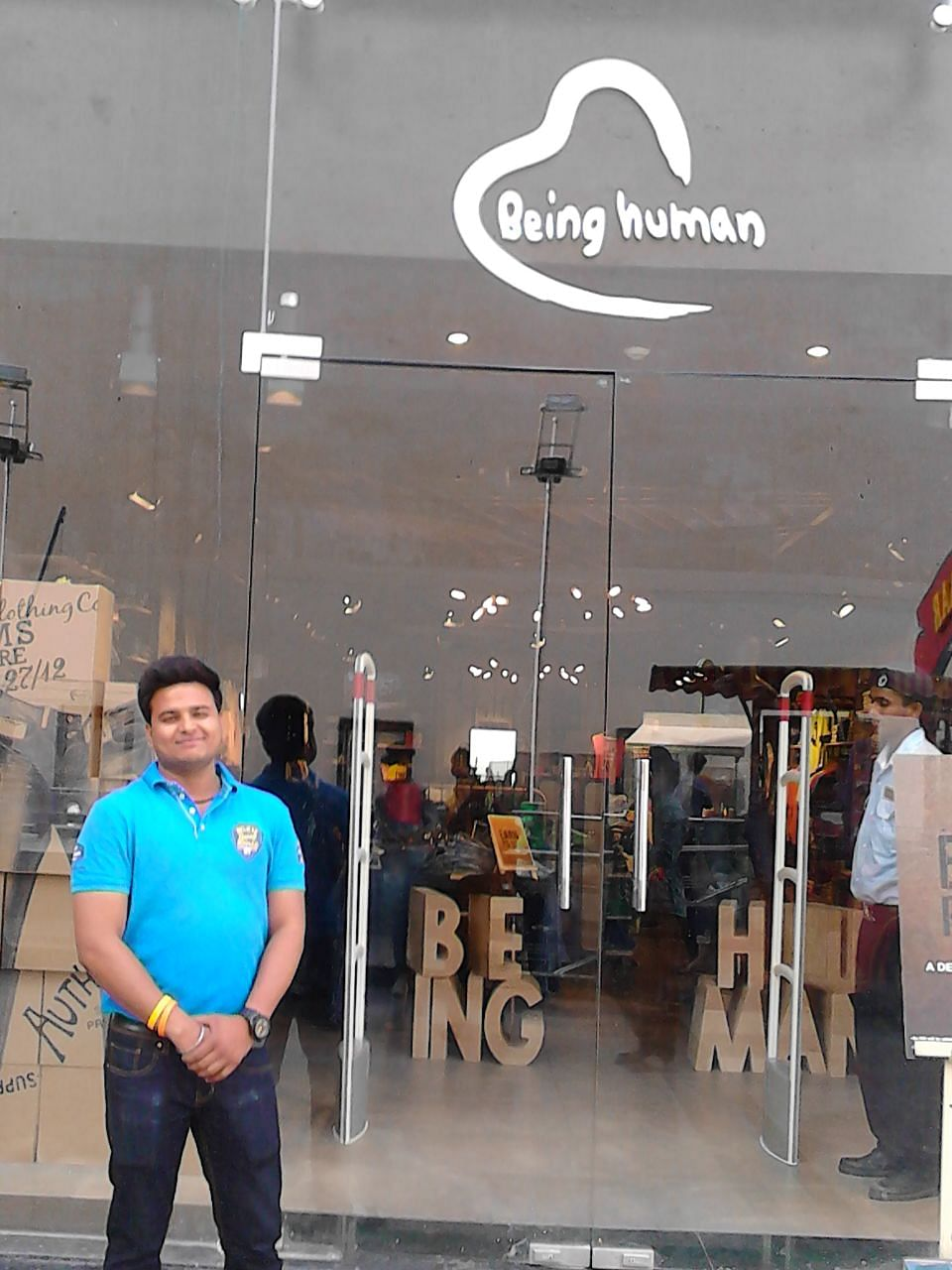 """Candidate Rahul Jain - Speech/hearing impaired boy who has been hired by """"Being Human"""" store in Jaipur"""