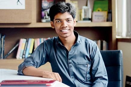 Ayush was in seventh class when he first heard about MIT but thought he didn't have enough resources to make it there.