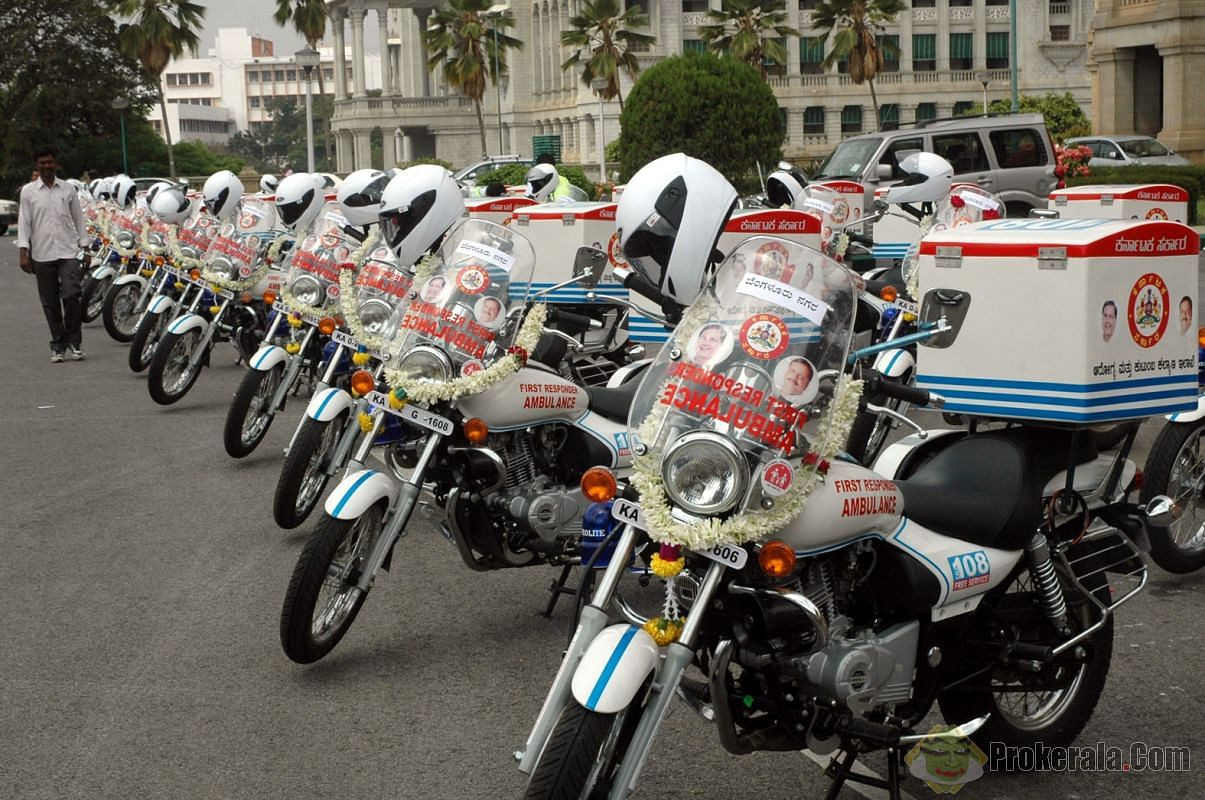 30 such bikes were flagged off on Wednesday.