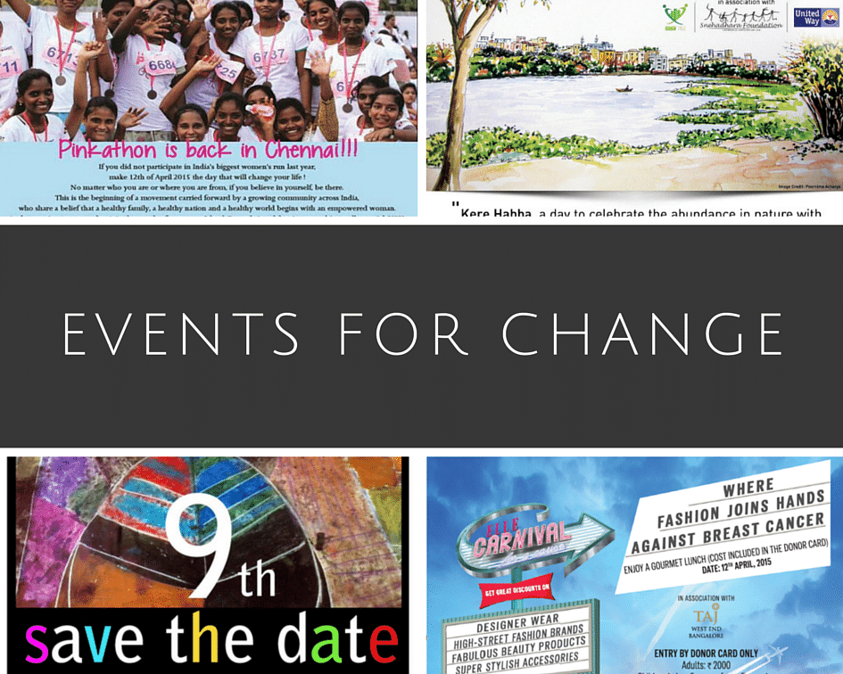 Events To Attend This Week (10/04/15 – 16/04/15)