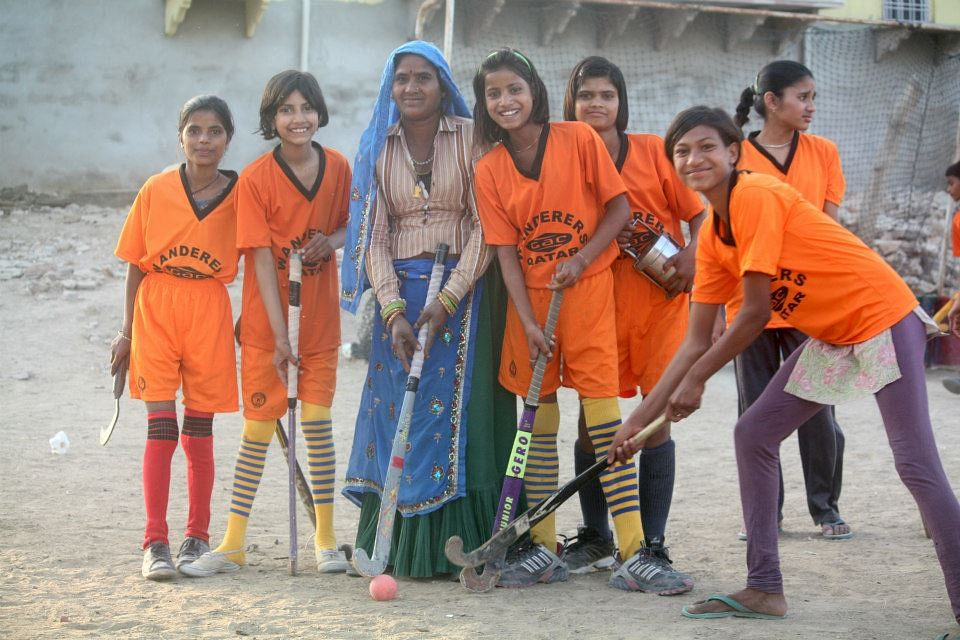 Though getting girls on board is difficult, but Andrea managed to get 5 girls selected in State Under-19 team.