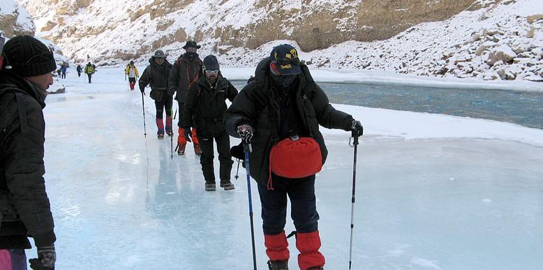 Chadar, Ladakh in winter