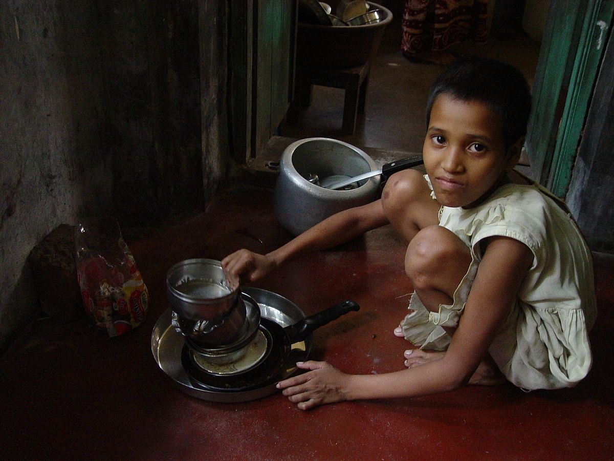 """Child Maid Servant"" by Biswarup Ganguly - Own work. Licensed under CC BY-SA 3.0 via Wikimedia Commons - http://commons.wikimedia.org/wiki/"