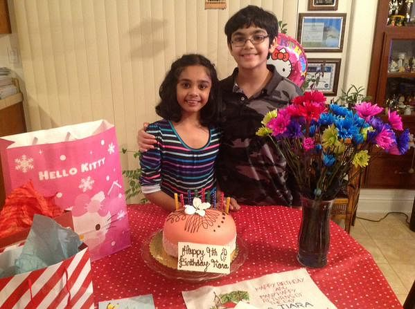 Dec 27th 2014, celebrating sister Tiara's Birthday