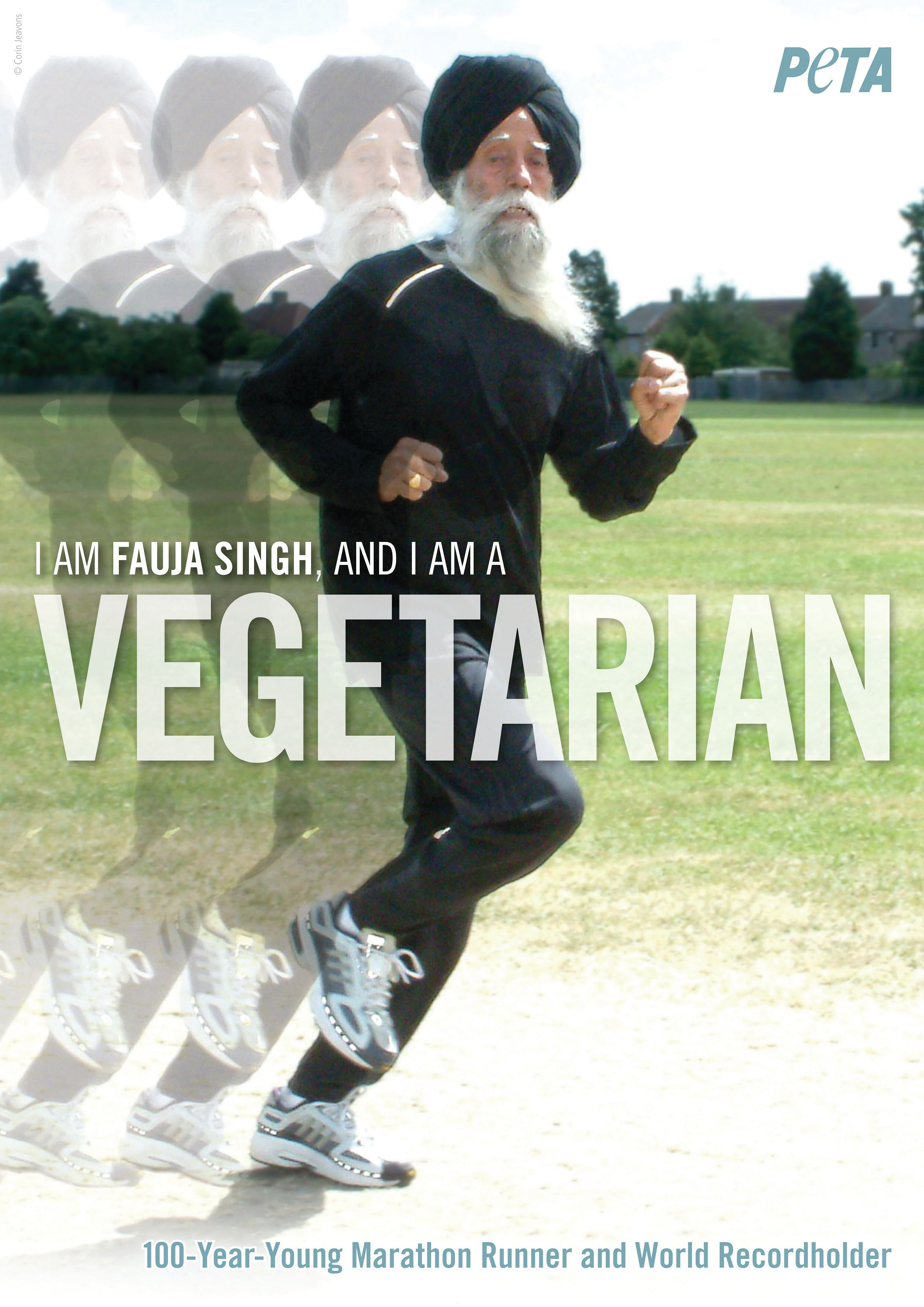 I-am-Fauja-Singh-and-I-am-a-Vegetarian PETA AD