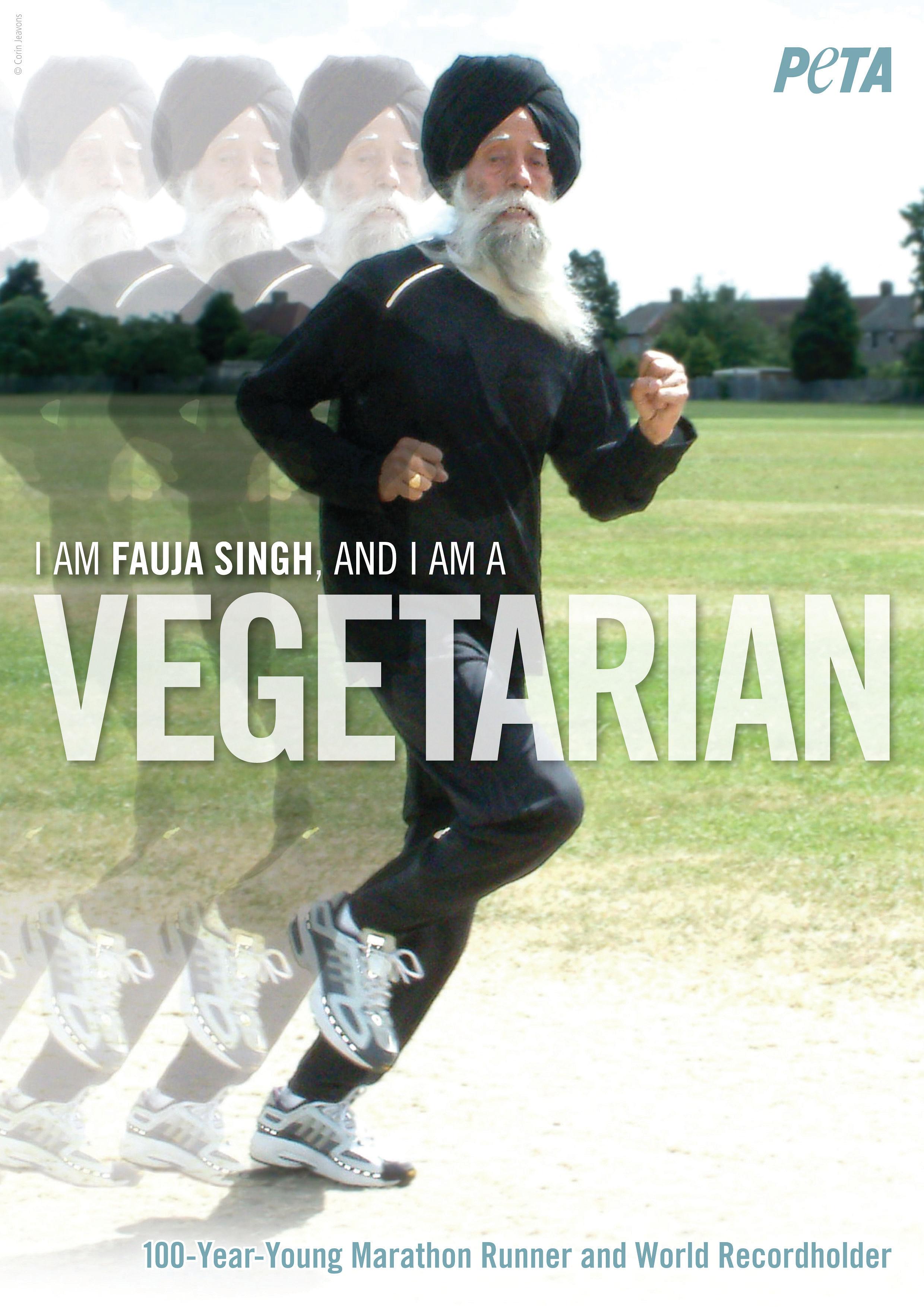 I-am-Fauja-Singh-and-I-am-a-Vegetarian PETA AD