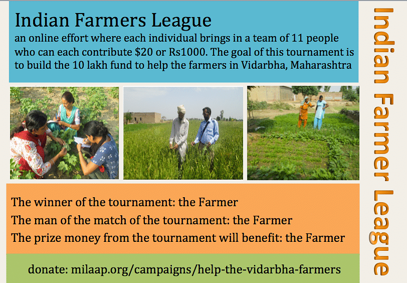 Indian Farmers League enables you to be a changemaker in an interesting way.