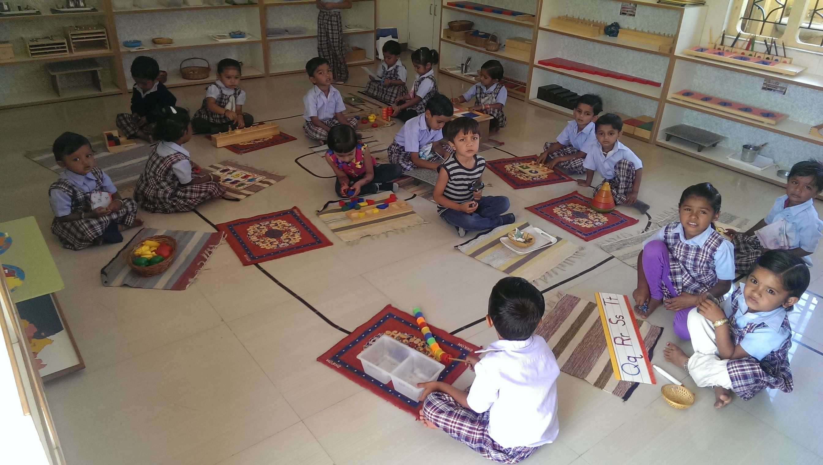 The montessori provides quality education opportunities to underprivileged kids too.