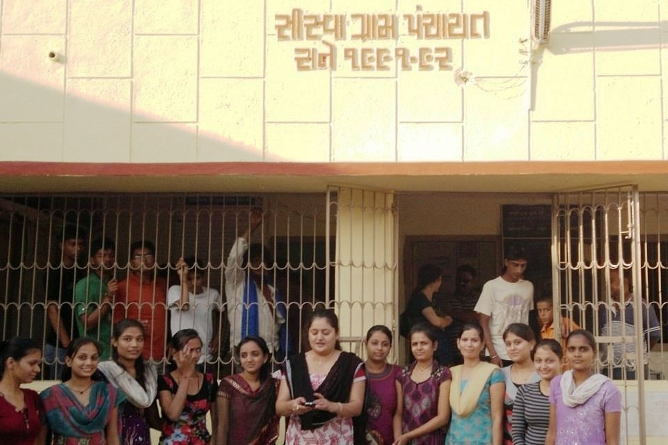 The 12-member all-women Gram Panchayat of Sisva village in Gujarat's Anand district has been efficiently chalking out and implementing a sound development agenda for their village since four years