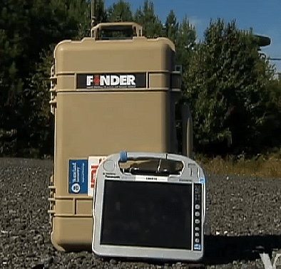 NASA's FINDER (Finding Individuals for Disaster and Emergency Response)