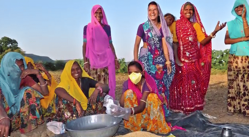 SRIJAN has connected over 700 women farmers so far.