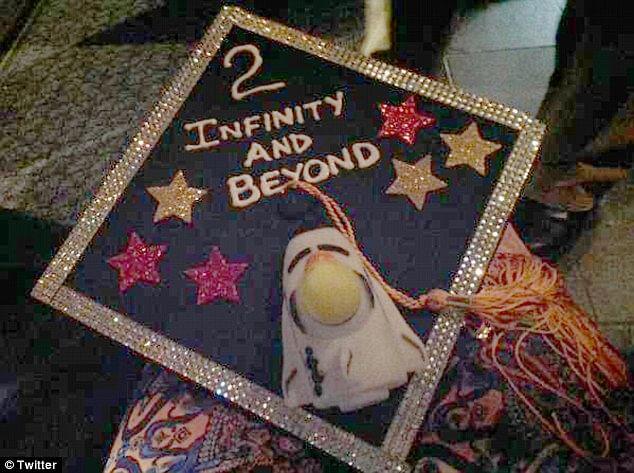 Tanishq Abraham's Graduation Cap - 2 Infinity and Beyond
