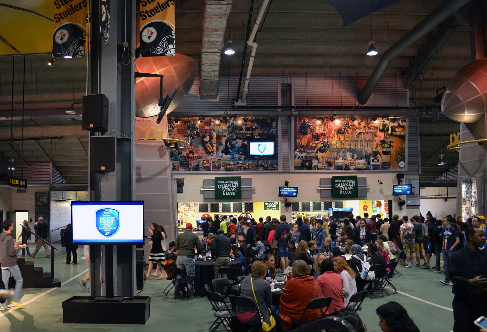 The INTEL ISEF 2015 at Pittsburg USA