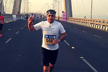 cancer to marathon
