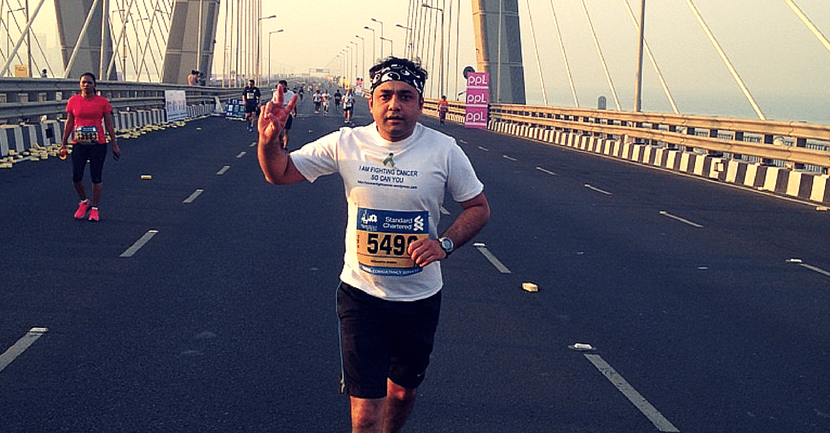 MY STORY: How I Went From Battling Cancer To Running A Full Marathon In Just 8 Months