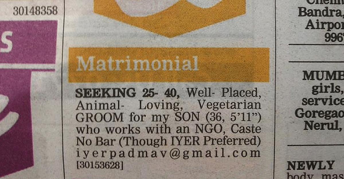 India's first LGBT matrimonial?
