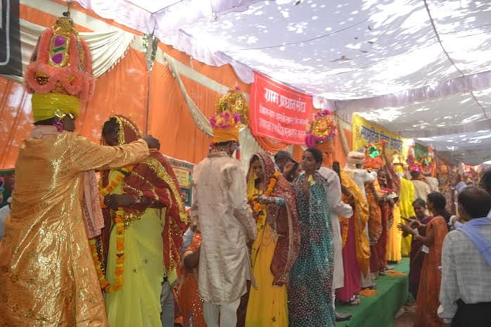 It was a challenge for Nandlal to bring people from all castes and religions together on one stage.