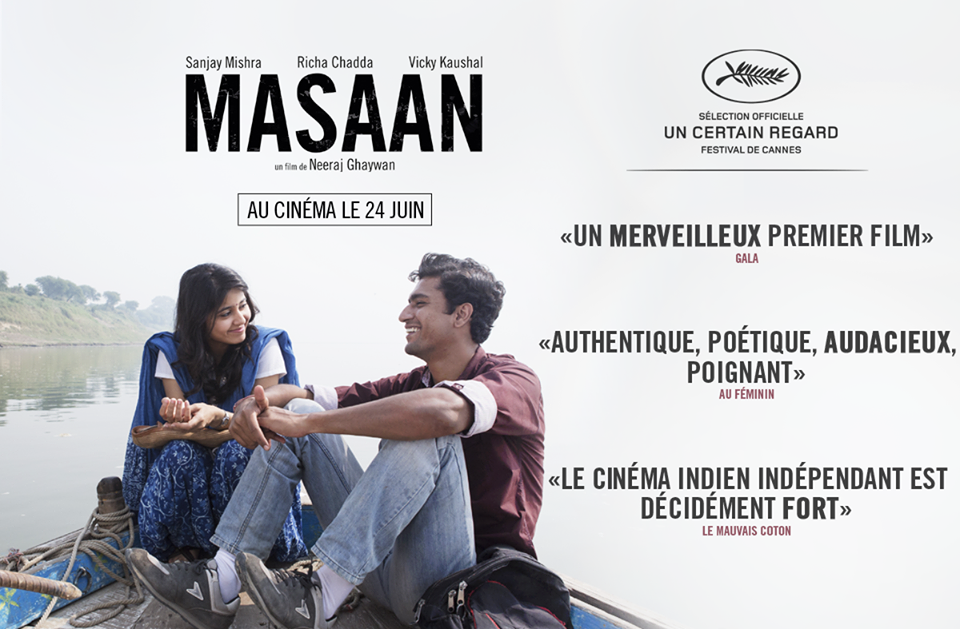 Indian film Masaan wins the prestigious FIPRESCI award at Cannes
