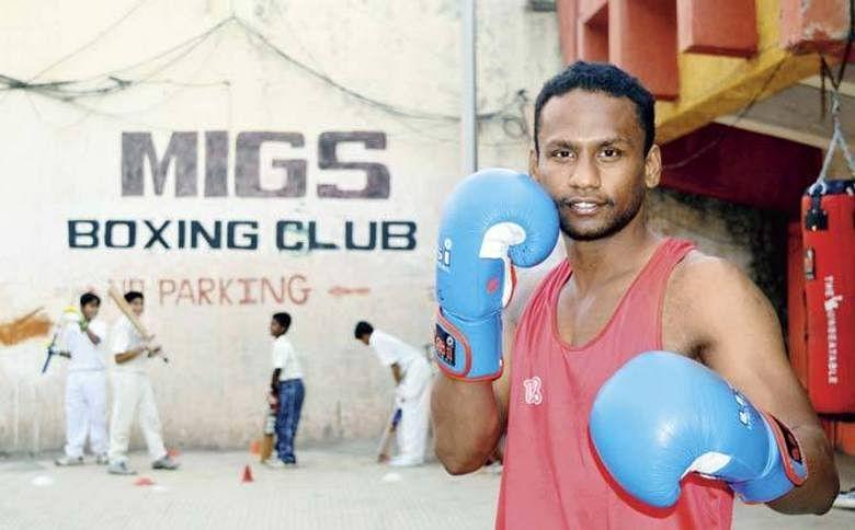 Mrunal has been boxing since he was 12