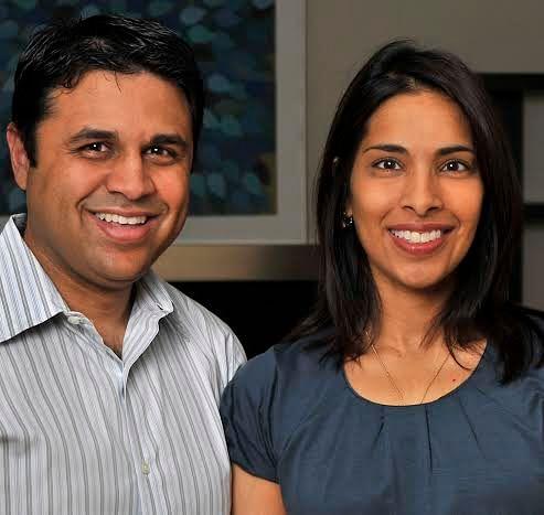 Dual Career Couple Dr. Jagesh V Shah and Dr. Sangeeta Bhatia